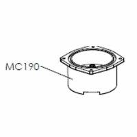 Lelit | Kesselunterteil verchromtes Messing PL41 | MC190