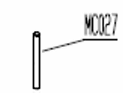 Lelit   Steigrohr für Kessel   MC027